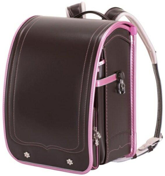 ふわりぃ ランドセル 2021年度 モデル ブラウン x パール ピーチ School Bag Randsel 2021 Brown x Pearl Peach
