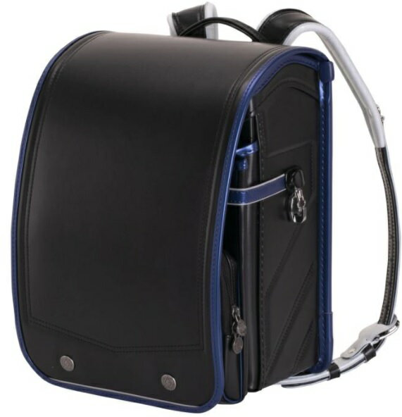 ふわりぃ ランドセル 2021年度 モデル ブラック x メタリック ブルー School Bag Randsel 2021 Black x Metalic Blue