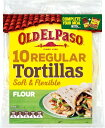 OLD EL PASO フラワートルティア 直径20? 10枚×2 トルティーヤ トルティーア タコス メキシカン Taco shell シェル