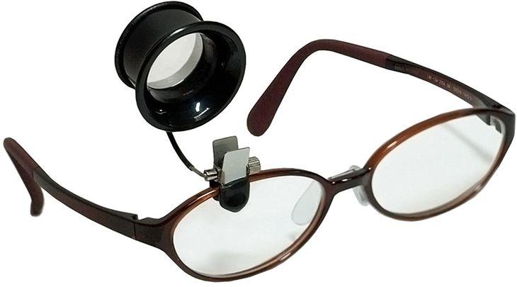 ベルジョン アルミリング付き 眼鏡用キズミ(ルーペ) 2.0度(5.0倍) BE791320 正規輸入品 眼鏡用キズミ 2.0度(5.0倍) BE791320x50個【BE7913-20】