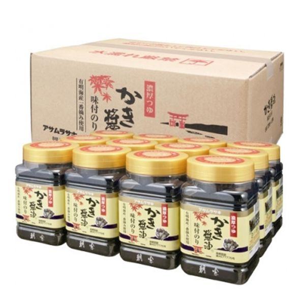 ★★アサムラサキ かき醤油味付のり 12個セット【】 1ボール【900916】