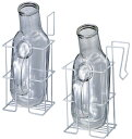 【送料無料】尿器掛  規格:角型 収納部内寸:W120×D100×H185mm