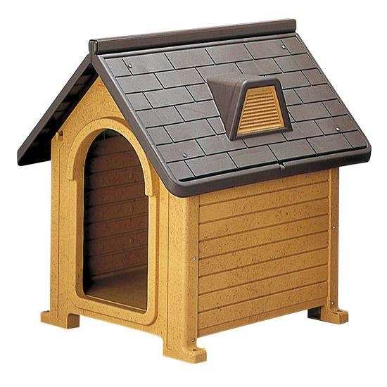 【送料無料】ペットハウス MK-580/ペット用品/子犬用品/犬小屋/屋外/プラスチック/ ペットハウス MK-580 ブラウン(BR)【8824】