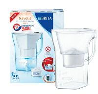 日本シェアNO1家庭用浄水器ブリタ(BRITA)ナヴェリア1.3L本体Naveliaカートリッジ式浄水機ポット型ホワイトGOODDESIGN賞受賞