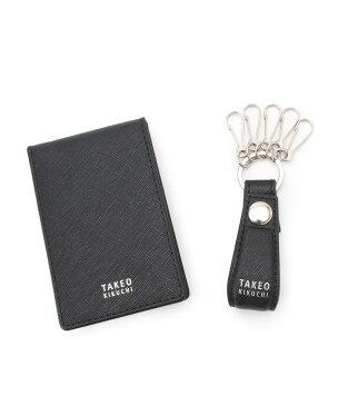 TAKEO KIKUCHI(タケオキクチ)カードケース&キーホルダーBOXセット [ メンズ カードケース キーホルダー ギフト ]