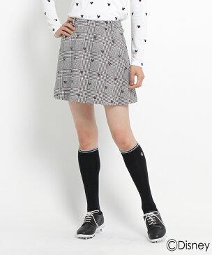 adabat(Ladies)(アダバット(レディース))adabat30周年企画「ミッキーマウス」プリントフレアスカート