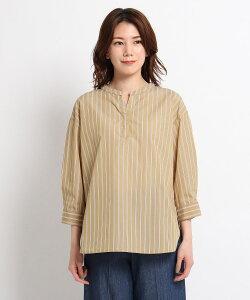 Dessin(Ladies)(デッサン(レディース))【XS〜L/洗える】ブロードスキッパーシャツ