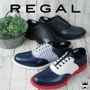 リーガル REGAL 送料無料 メンズ(男性用) レインシューズ 69KR サドルシューズ 雨 梅雨 ビジネス 通勤 紳士靴 コンビカラー RAIN レイ…
