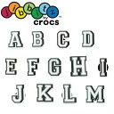 クロックス crocs ジビッツ jibbitz letter キッズ メンズ レディース アルファベット A〜M ラバークロッグ用アクセサリー シューチャーム evidの商品画像