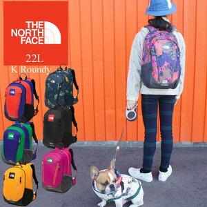 ザ・ノースフェイス NMJ71801 THE NORTH FACE ラウンディ リュック 22L 男の子 女の子 キッズ ジュニア デイバック バック バックパック アウトドア 通学 遠足 ハイキング evid