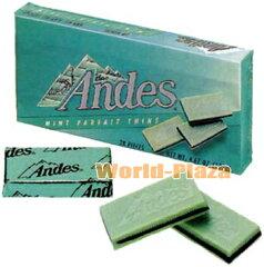 アメリカ・アンデス・キャンディーズのチョコレートアンデス  ミントパフェ シン
