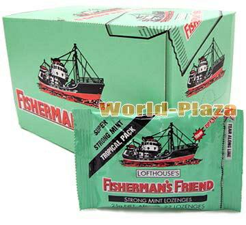 フィッシャーマンズフレンド ストロングミント(緑)24個入りBOX