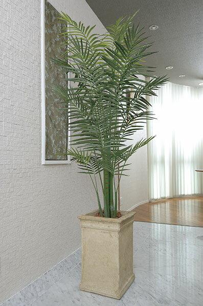 【送料無料・ポイント10倍】《アートグリーン》《人工観葉植物》光触媒 光の楽園 トロピカルアレカパーム2.3:JUSTJAPAN