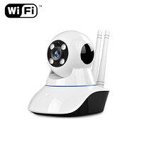ワイヤレス防犯カメラWi-Fi対応カメラ監視カメラ防犯カメラワイヤレスカメラWiFi無線接続ネットワークカメラPCで遠隔監視可能暗室撮影簡単設定スマホ/iphone操作可能送料無料