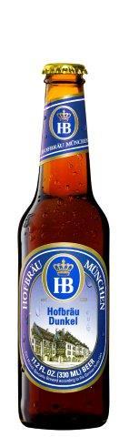 (送料無料)ドイツビールホフブロイドゥンケル330ml×24本送料無料ドイツビール輸入ビール黒ビール正規輸入品