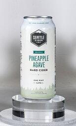 シアトルサイダーカンパニー パイナップル アガベ 473ml× 6本 送料無料 アメリカ ハード サイダー 輸入ビール 果実酒 正規輸入品 Pineapple Agave