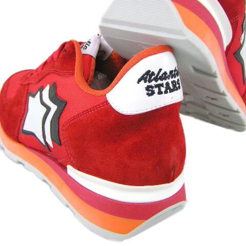 【ポイント最大43倍!】【2019春夏定番モデル】 アトランティックスターズ/Atlantic STARS メンズ スニーカー ANTARES FR 85B (レッド系) シューズ/靴/大きいサイズ-s
