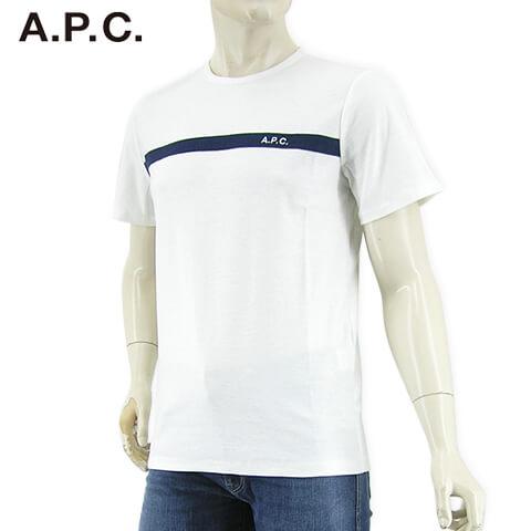 トップス, Tシャツ・カットソー A.P.C. T COCLI H26643 (WHITEIAK) APC-tSLsSTOCK-21SS