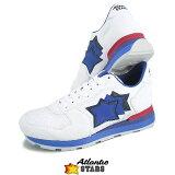 【2018春夏新作】 アトランティックスターズ/Atlantic STARS メンズ スニーカー ANTARES BBA 83R (ホワイト) シューズ/靴