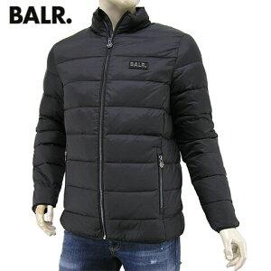 【2020-21秋冬新作】 ボーラー/BALR. メンズ ダウンジャケット SLIM DOWN JACKET B10289 (ブラック/BLACK) スリム ダウンジャケット/ダウン/アウター/シングルジップ/SL