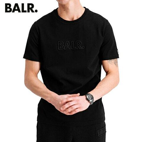トップス, Tシャツ・カットソー BALR. T 3D EMBRO STRAIGHT T SHIRT B1112 1006 (BLACK) SLsSTOCK-21SS
