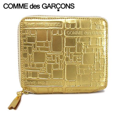 財布・ケース, レディース財布 2021-22 COMME des GARCONS 2 SA2100EG GOLD