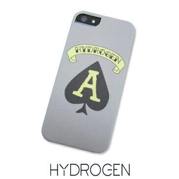 ハイドロゲン/HYDROGEN iPhone SE/5/5S 専用ケース H5TA (グレー×タトゥーコレクション) 【プレミアムSTOCK】 アイフォンSE/アイフォン5 ケース/アイフォン/SE/5S/iPhoneSE/iPhone5S/iPhone/ケース/スマホカバー/ブランド/人気/おしゃれ (セール品)
