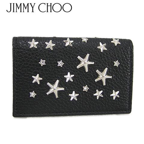 財布・ケース, クレジットカードケース JIMMY CHOO NELLO DCS BLACK
