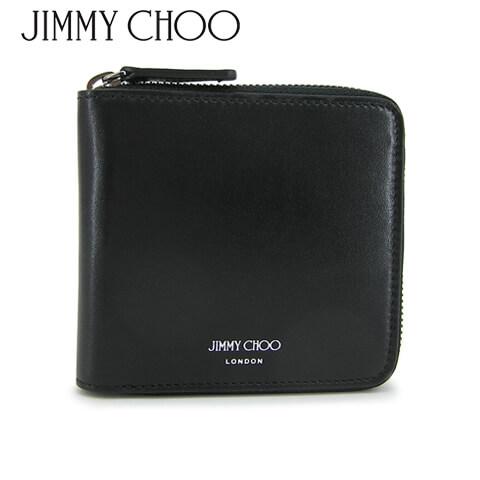 財布・ケース, メンズ財布 2021-22 JIMMY CHOO 2 SCOTT PKR (BLACK)