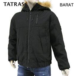 タトラス/TATRAS メンズ ダウンジャケット MTLA20A4106 D BARAT (BLACK/ブラック/01) ダウン/フード/アウター/大きいサイズ-t/SL【プレミアムSTOCK-AW】