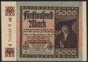 ドイツ・ワイマール共和国 5000 mark 1922年 - 世界の貨幣専門店オズコレ