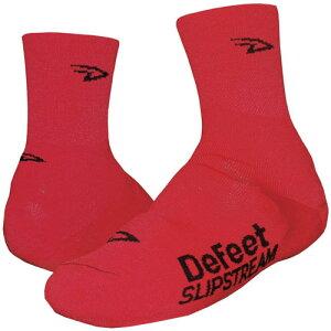 ディフィート Slipstream D-Logo シューズカバー レッド