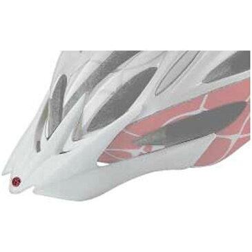 OGKカブト バイザー (リガス レディース専用) ホワイト 【自転車】【ヘルメット(大人用)】【OGKカブト】