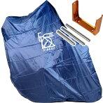 【特急】R250超軽量縦型輪行袋ネイビーフレームカバー・スプロケットカバー・輪行マニュアル付属