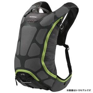 【即納】シマノ ACCU-3D U-15 15L チャコール/エレクトリックグリーン バックパック 【自転車】...