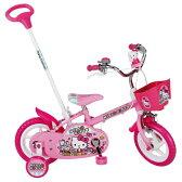 【代引不可】エムアンドエム ハローキティ 12D 【自転車】【子供車・三輪車】【12インチ】