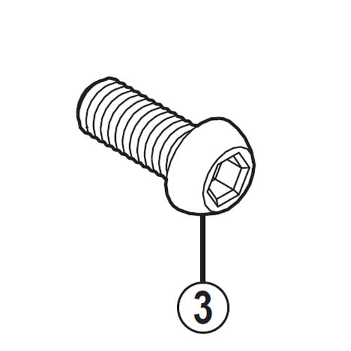 【M便】[3]バンド取付ボルト(M6×14.8)