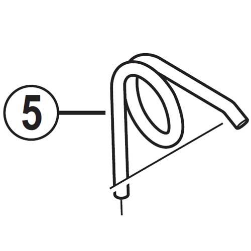 [5]アームバネ 【自転車】【ロードレーサー用】【SORA】【BR3500用スモールパーツ】