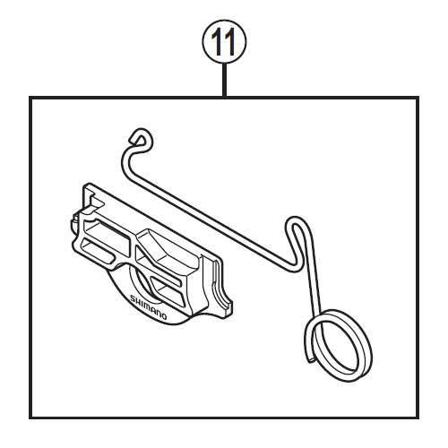 [11]取付け治具 【自転車】【ロードレーサー用】【DURA-ACE】【BR9010-R用スモールパーツ】