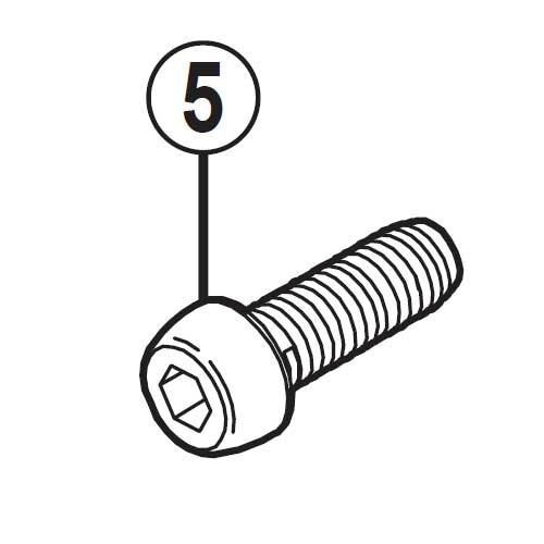 【M便】[5]取付ボルト(M6 x 17.8)