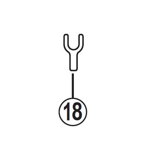 [18]Eリング取り外し工具B 【自転車】【ロードレーサー用】【SORA】【ST3500用スモールパーツ】