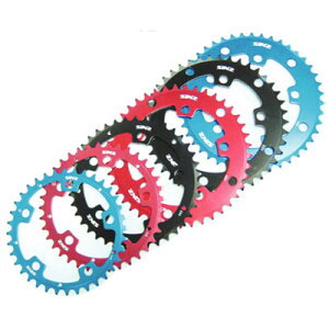 SINZ 5 Bolt Chain Rings ブルー