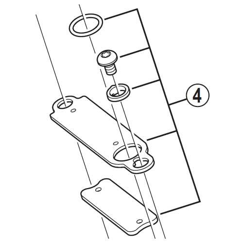 [4]セパレーターユニット 【自転車】【マウンテンバイク用】【ZEE】【BLM640用スモールパーツ】