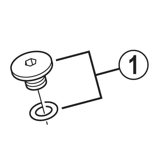 【M便】[1]ブリードネジ(M5×4.7)&Oリング