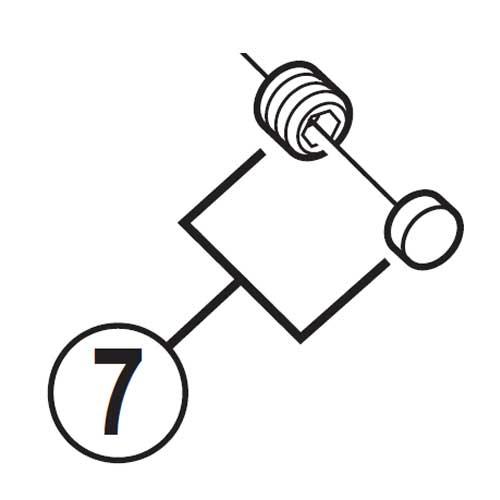 【M便】[7]レバー軸固定ネジ&キャップ