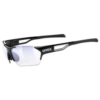 ウベックススポーツスタイル202スモールRACEVARIOサングラスブラック(調光レンズ)