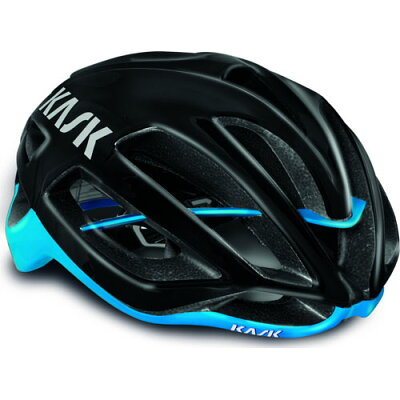 KASKPROTONEヘルメットブラック/ライトブルー