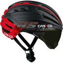 カスコ SPEEDairo RS バイザー付き ブラック/レッド ヘルメット