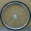ワールド 27インチフロントホイール アルミリム ハブダイナモ付(01D) タイヤチューブセット