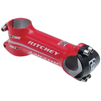 リッチー WCS 4AXIS ステム 31.8mm ウェットレッド 【自転車】【ロードレーサーパーツ】【ステム】【リッチー】